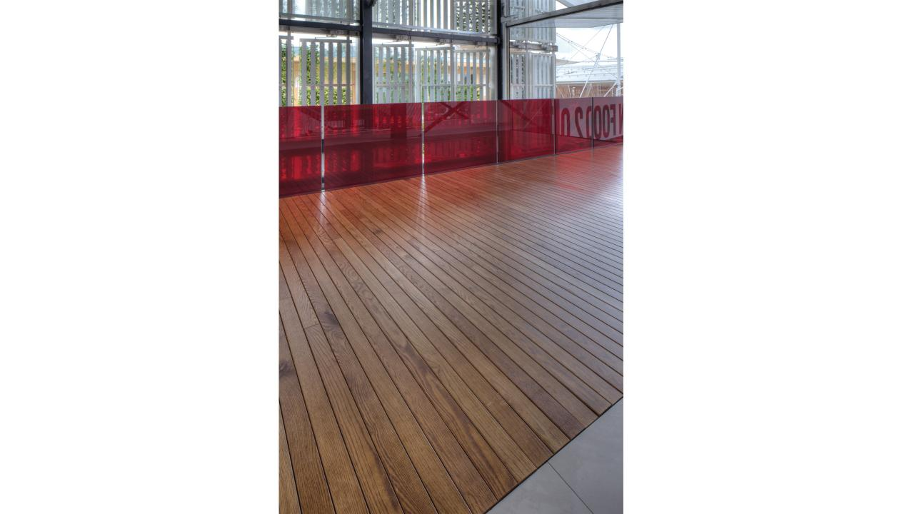Milan expo flooring by James Biber